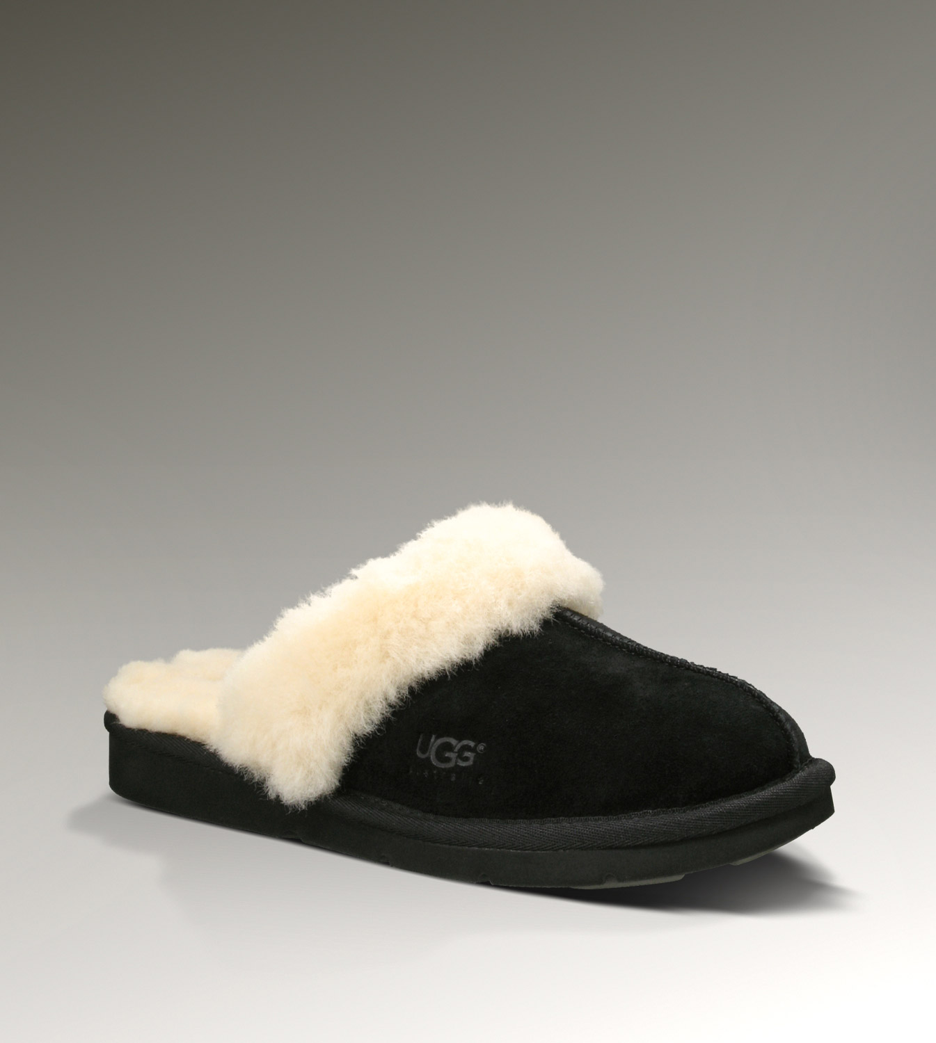 UGG Cozy II 5614 Black Slippers